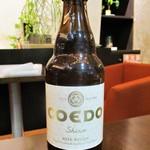 パスタとカフェの店 Ricco - CODO BEER 333ml 500円(税込)。                 2018.02.24