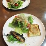 パスタとカフェの店 Ricco - 本日は、Dinner Set 1,980円(税込)/人 を中心にオーダーしました。                   2018.02.24