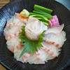 旬鮮館 - 料理写真:ヒラメ丼