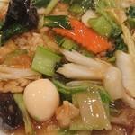 銀座 鳳鳴春 - 中華丼