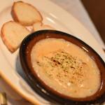 シーハーズ - にんにくのみそグラタン(料理1品とドリンク1杯で750円相当)