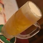 シーハーズ - 生ビール(料理1品とドリンク1杯で750円相当)