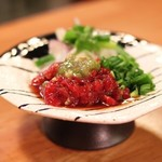 肉の寿司×焼鳥 okitaya - 馬わさび(550円)