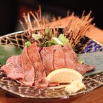 肉の寿司×焼鳥 okitaya - 牛タン炭焼き(980円)