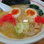 麺小屋 ここりこ - 鶏白湯ラーメン650円+味玉100円