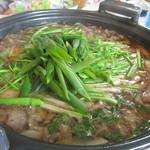 魚三北国街道本店 - 天然鴨鍋 まずは雑肉から