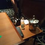 Esukaiyakurabu - テーブルでお酒を作ってくれますよ