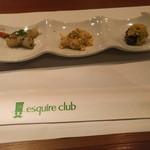 Esukaiyakurabu - 前菜