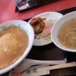 呑龍   淀店 - 天津飯とミニラーメンセット