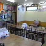 餃子の砂子 - 店内食は昼間だけ。