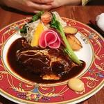 新洋食 KAZU - ハンバーグ、デミ