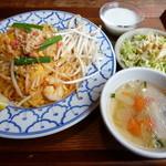 タイ料理バル タイ象 - パッタイランチセット