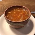 ヴァンショー - セットのスープ