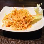 伽哩巧房 - セットのサラダ