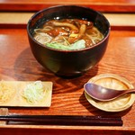 ふ~助 - 料理写真:なめこ蕎麦
