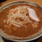 らーめん大地 - 味噌カレーラーメン