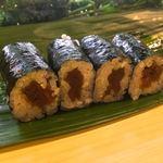 健寿司 - かんぴょう巻きあるよ〜おろしたての山葵たっぷりで