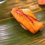健寿司 - 穴子はツメで、濃くなくて良い塩梅。