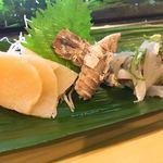 健寿司 - 平貝、シャコ、細魚