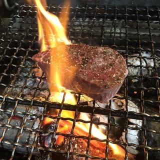 薪焼ステーキ
