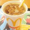 マクドナルド - ドリンク写真:アイスコーヒーS100円