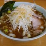 あらい - 料理写真:ネギラーメン大盛り850円