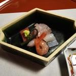 Suzuoki - お造り(車鯛の昆布締め)