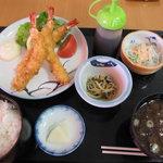 いさばや食堂 - 2010.5/20 エビフライ定食