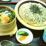 Kikyou - 鶏つみれわっぱ飯と蕎麦
