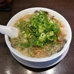 来来亭 - 料理写真:ラーメン(かため・濃いめ・ネギ多め)
