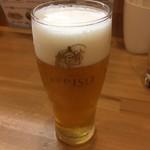 恵比朱 - エビス生ビール500円