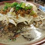 東京担々麺  ゴマ哲 - 黒鉄担々麺 860円