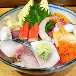 寿司処 雅 - 海鮮丼840円