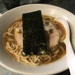 らぁめん家 有坂 - らぁめん(醤油)