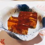 英ちゃん冨久鮓 - お突き出しの「煮ごり」♪
