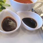 ワロスロードカフェ - ソース