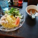七左食堂 - セットの冷やし中華
