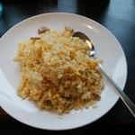 七左食堂 - セットの卵チャーハン