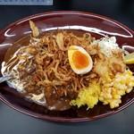 Karehanomimono - 黒い肉カレーポーク・中(890円)