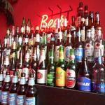 べいらっきょ - 世界のビールが42種類も置かれている