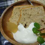 キッチン ビオ バンビーナ - シフォンケーキ