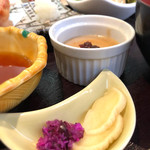 酒菜食房いち - お漬け物2種