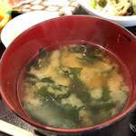 酒菜食房いち - お味噌汁