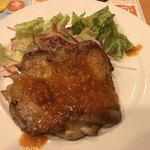 ガスト - 若鶏のグリル ガーリックソース 649円→399円       クーポン