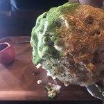 赤七屋 - 料理写真:黒糖クリームきな粉と抹茶
