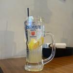 牛8 - オーガニックレモンサワー