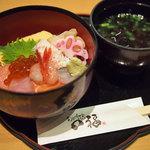 旬彩和食 口福 - ミニ海鮮どん