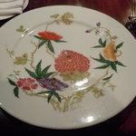 ル・コントワール・デュ・グー - 皿が可愛いデザインで面白かった