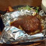 マルベリー - デミグラスソースのハンバーグ