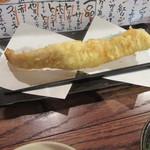 天ぷら・鉄板焼酒場 しん家 - 一本穴子(¥280)